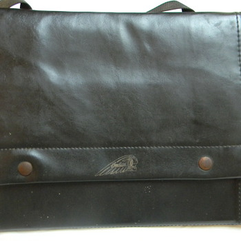 Indian (original) Saddlebag--LEATHER-Great Condition-Need Info abt Value - Motorcycles
