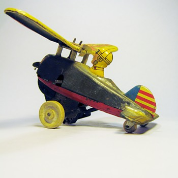 LOOPING PLANE   MARX TOYS-USA