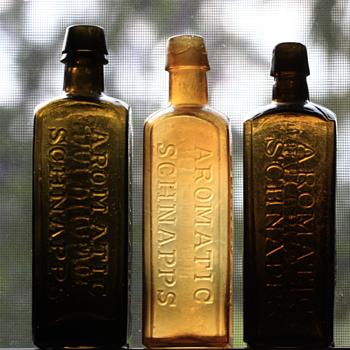 ----Schnapps Bottles---- - Bottles