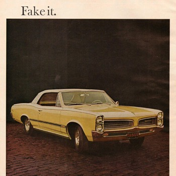 1966 - Pontiac Tempest Advertisement