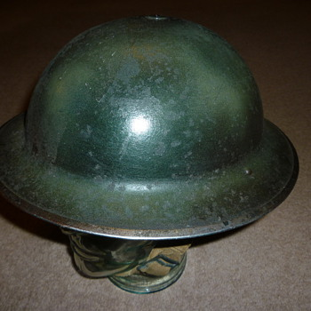 British WW11 British Broadcasting Corporation (BBC) helmet