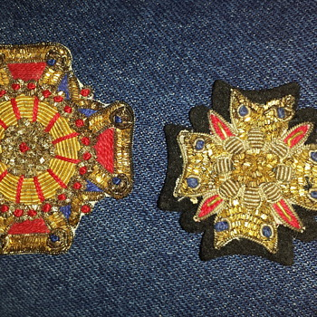 Old Military Order Cross Insignia? Patches - Military and Wartime