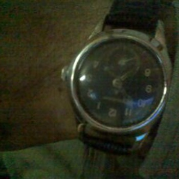antique wrist watch of jaeger le coultre 1942