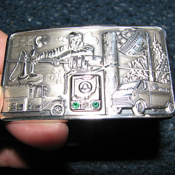 Info on Ohio Bell belt buckle