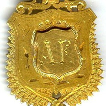 Okato, New Zealand WWI Gold Service Medal