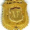 Okato, New Zealand WWI Gold Service Medal