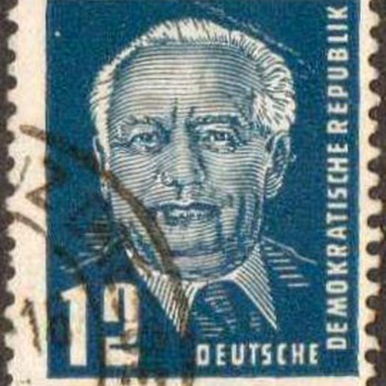"1950 - E. Germany ""Wilhelm Pieck"" Postage Stamps"