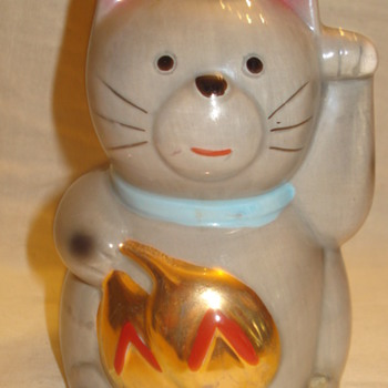 &quot;MANEKI NEKO&quot; AND OLD JAPANESE TRADITION.