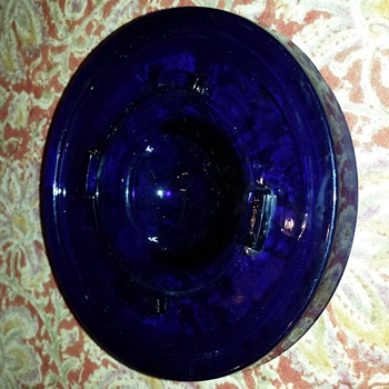 Mystery Blue Glass piece - Glassware