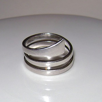 Swirl Silver Ring - Fine Jewelry