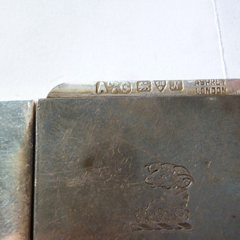 silver match or stamp box