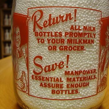 Indianapolis Indiana MBS Dairy Patriotic Slogan #3............