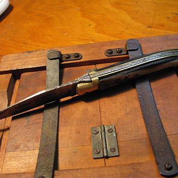 Vintage Laguiole knife