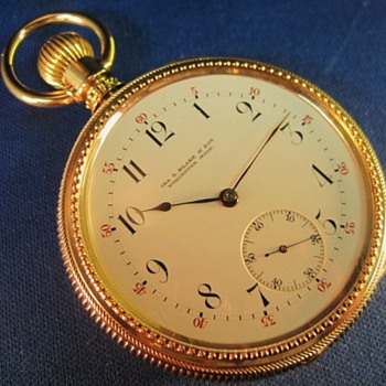 Vacheron &amp; Constantin Contract Watch for Ira G. Blake - Pocket Watches