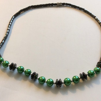 Vintage Hematite necklace