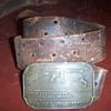 Colt belt buckle