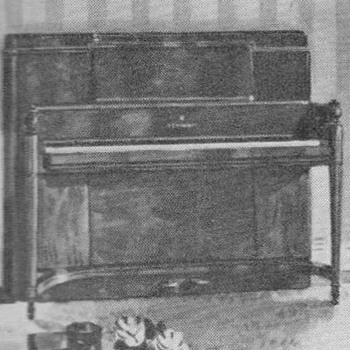 "1951 - Steinway ""Pianino"" Advertisement - Advertising"