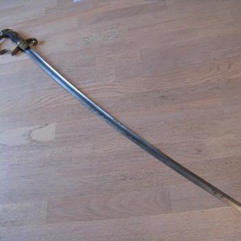 Strange sword