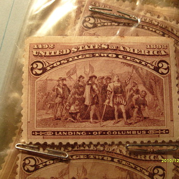 1892 Landing of Columbus Stamps - Stamps