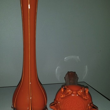 Art glass vases - origin?