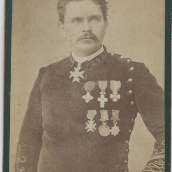 War Veteran circa 1866//1888 - Photographs