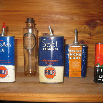 My Lead Top Oil Collection - Petroliana