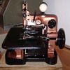 Antique Overlock Singer Sewing Machine 81-5 from 1925