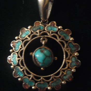 Arts & Crafts Liberty pendant designed by Jessie M King - Arts and Crafts