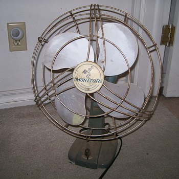 Vintage Monitor Fan - Office