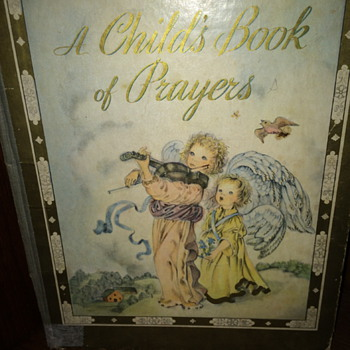 Vintage Children's Prayer Book - Books