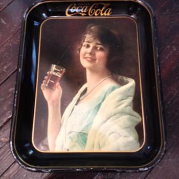1923 Coca Cola Tray - Coca-Cola