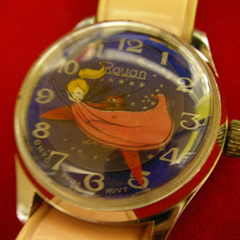 1972 Tinker Bell Wristwatch - Wristwatches