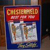 Chesterfield Cigarettes Sign