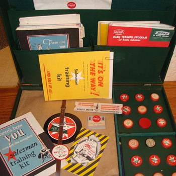 1949 Coca-Cola Salesman Training Kit - Coca-Cola