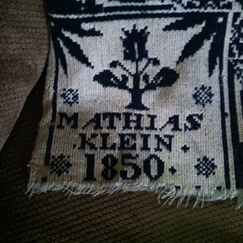 Mathias Klein coverlet - Rugs and Textiles