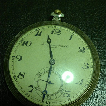 International Watch Co. Schaffhausen pocket watch information
