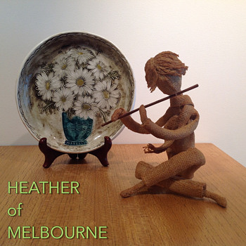 BURLAP/HESSIAN DOLL - HEATHER of MELBOURNE - Dolls