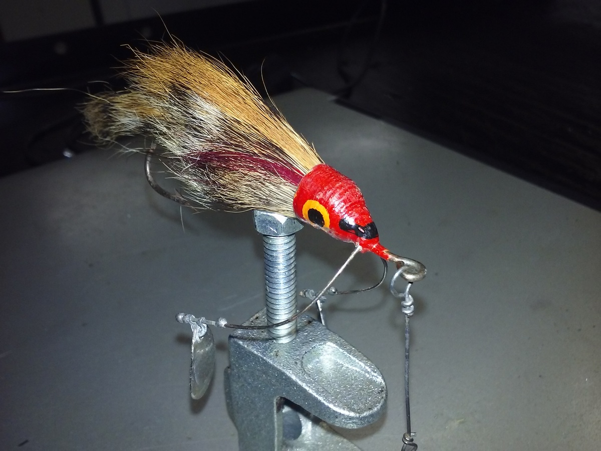 from Noah hookup lures weedless bucktails