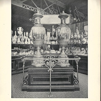 -Part II-World Columbian Exposition 1893, Austria, Liberty and Progress Vases