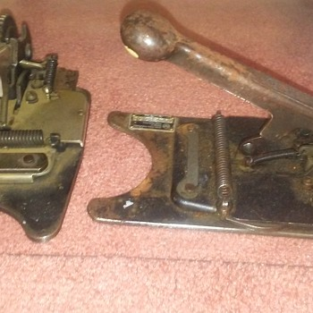 I have no idea, tell me what these are please - Tools and Hardware
