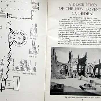 1962-coventry cathedral guidebook. - Books
