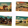 Retro Vintage Postcards From OLD SARASOTA, Ringling Musuem, Downtown,etc...