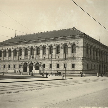 "Boston Public Library,Copley Sq""Early XX Century"""