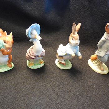 Beatrix Potter's Beswick, England Figurines