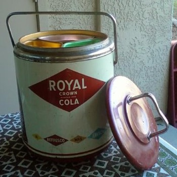 Royal Crown RC Cola Cooler