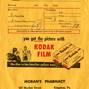 Kodak Photo Bag 1952 - Mid-Century Modern