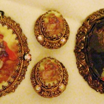 Costume jewelry (old) West Germany - Costume Jewelry