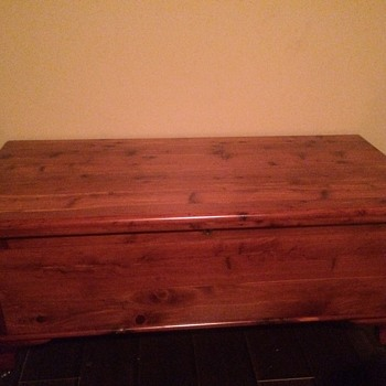 My Grandfathers cedar chest