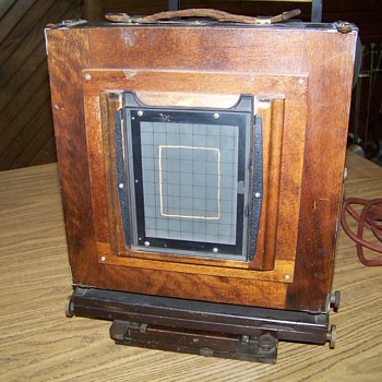 Ansco universal view camera... - Cameras
