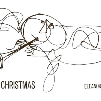 Christmas card and drawings by Eleanor Dalton. - Christmas